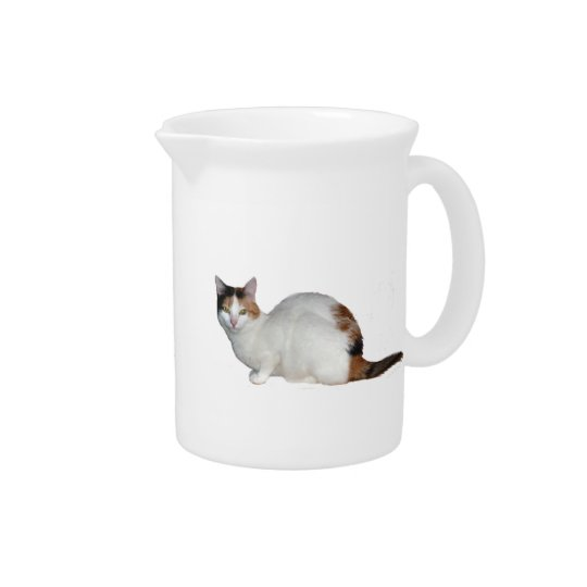 Calico Cat Pitcher
