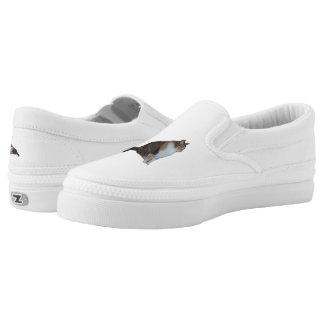 Calico Cat Slip-On Shoes