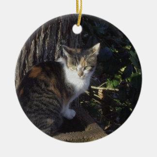 Calico Christmas Ornament
