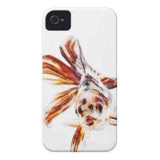 Calico Fantail Comet goldfish (Carassius Case-Mate iPhone 4 Cases