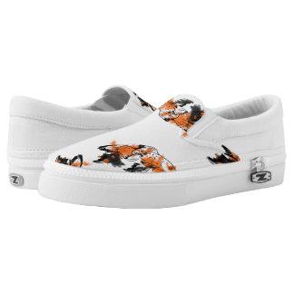 Calico Fish Slip On Shoes