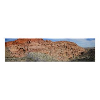 Calico Hills Pano 1 Poster