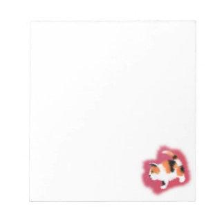 Calico Kitten Notepad