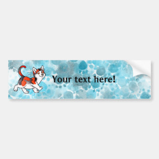 Calico Kitty Bumper Sticker