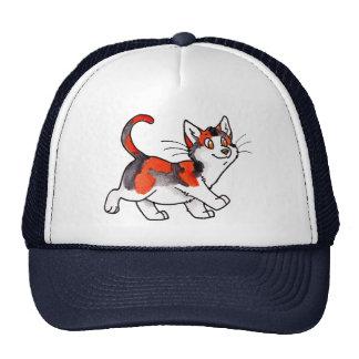 Calico Kitty Mesh Hats