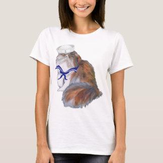 Calico Persian Cat Sailor T-Shirt
