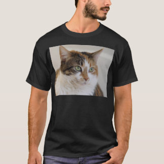 Calico tabby cat face T-Shirt