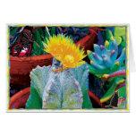 Caliente Cactus Greeting Card