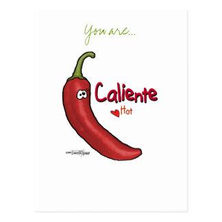 Caliente Hot Stuff - Valentine card