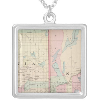 Calif, Nev north Silver Plated Necklace