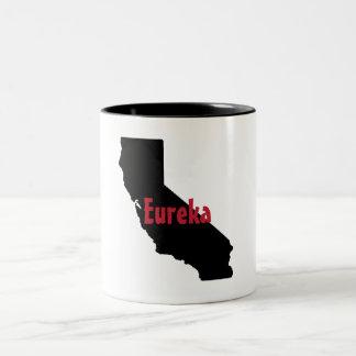 Californai State Mug - Eureka - Two-Tone Mug