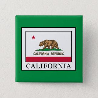 California 15 Cm Square Badge