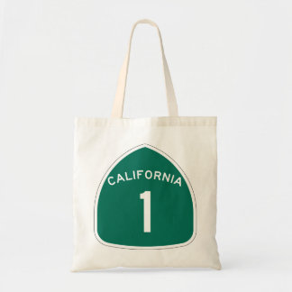 California 1 tote bag