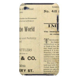 California 2 iPod touch cases