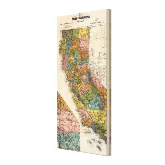 California 3 gallery wrapped canvas