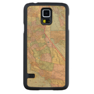 California 3 carved maple galaxy s5 case