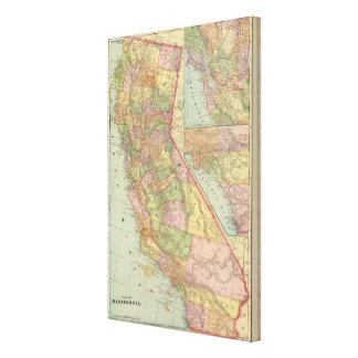 California 4 canvas prints