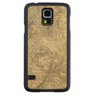 California 6 carved maple galaxy s5 case