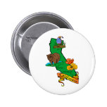 California 6 Cm Round Badge