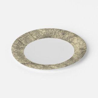 California 6 paper plate
