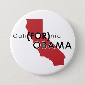 CaliFORnia 7.5 Cm Round Badge