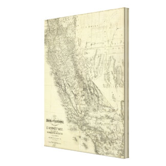 California 7 canvas print