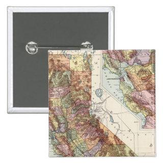 California 8 15 cm square badge