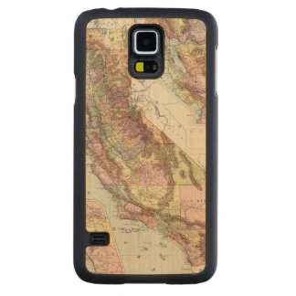 California 8 carved maple galaxy s5 case