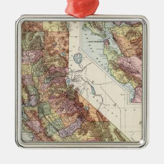 California 8 christmas ornament