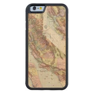 California 8 carved® maple iPhone 6 bumper