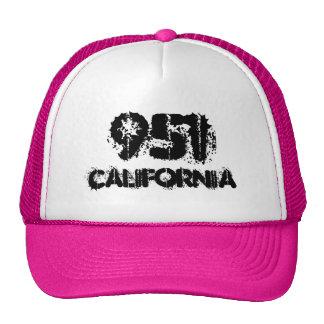 California 951 area code.  Hat gift idea.
