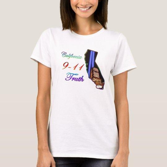 California 9-11 Truth T-Shirt