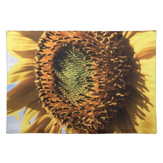 California, A Mammoth Sunflower (Helianthus) 1 Placemat