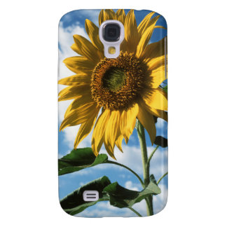 California, A Mammoth Sunflower (Helianthus) 2 Galaxy S4 Case