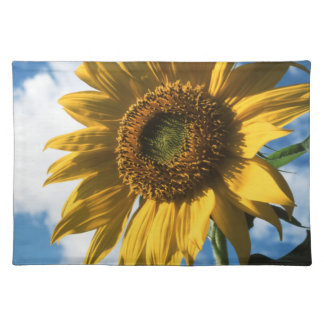 California, A Mammoth Sunflower (Helianthus) 2 Placemat