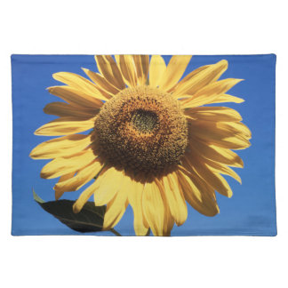 California, A Mammoth Sunflower (Helianthus) 3 Placemat
