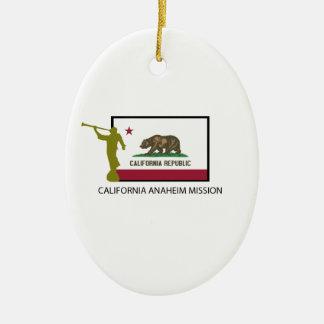 CALIFORNIA ANAHEIM MISSION LDS CTR CHRISTMAS ORNAMENT