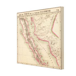 California and Mexico 58 Canvas Print