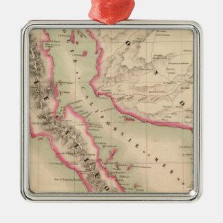 California and Mexico 58 Christmas Ornament