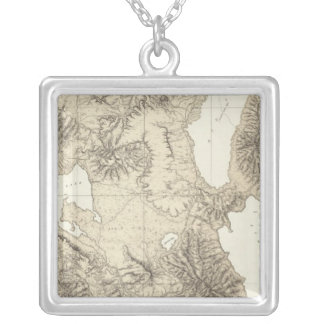 California and Nevada 10 Silver Plated Necklace