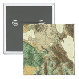 California and Nevada 2 15 Cm Square Badge