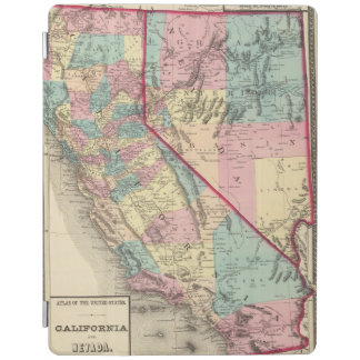 California and Nevada 2 2 iPad Cover