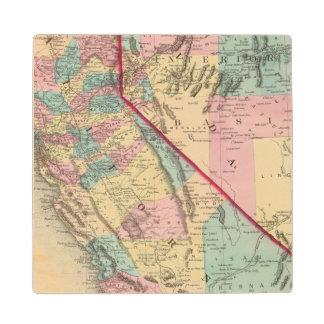 California and Nevada 2 2 Wood Coaster