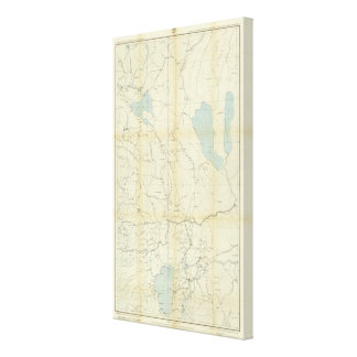 California and Nevada 3 Stretched Canvas Prints
