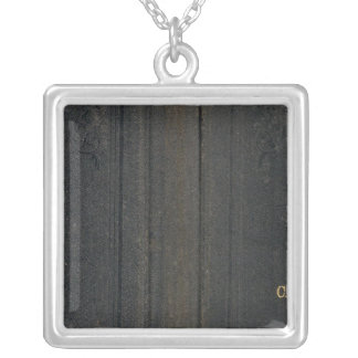 California and Nevada 4 Silver Plated Necklace