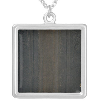 California and Nevada 5 Silver Plated Necklace