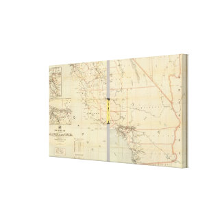 California and Nevada 9 Canvas Print
