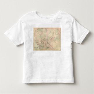 California and Nevada North Portion Toddler T-Shirt