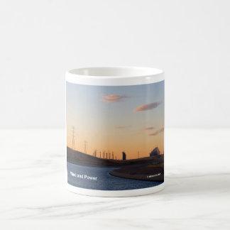 California Aqueduct Windmills Altamont Products Basic White Mug