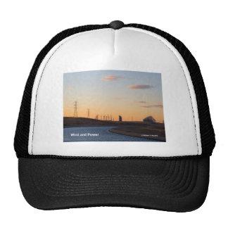 California Aqueduct Windmills Altamont Products Trucker Hat